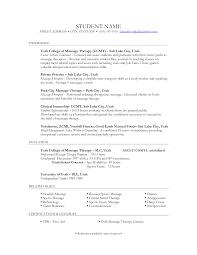 Massage Therapist Resume Badak 462 Examples Full