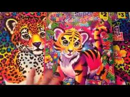 LISA FRANK COLORING AND ACTIVITY BOOKS WITH STICKERS FROM DOLLAR GENERAL