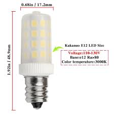 e12 led bulb dimmable 110v 5w equivalent 40w e12 halogen l warm