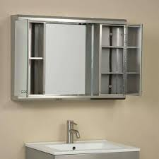 lighted medicine cabinet s led mirror with canada cabinets surface