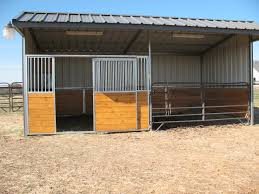 Livestock Loafing Shed Plans by Mare Motel Spanning Fence Lines And Diving Though Ally For Feeding