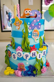 Bubble Guppies Cake Toppers by Best 25 Bubble Guppies Birthday Cake Ideas On Pinterest Bubble