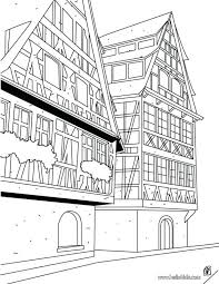 Coloring Pages House Sheets