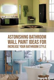 22 Astonishing Bathroom Wall Paint Ideas For Increase Your Bathroom ... Attractive Color Ideas For Bathroom Walls With Paint What To Wall Colors Exceptional Modern Your Designs Painted Blue Small Edesign An Almond Gets A Fresh Colour Bathrooms And Trim Match Best 9067 Wonderful Using Olive Green Dulux Youtube Inspiration Benjamin Moore 10 Ways To Add Into Design Freshecom The For