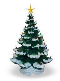Christmas Decor Idea Ceramic Trees