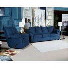 Ashley Furniture Light Blue Sofa by Ashley Furniture Darcy Blue Living Room Sofa Intended For New