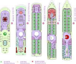 Norwegian Dawn Deck Plans 2011 by Cruise