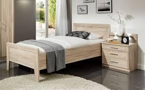 komfortbett eiche sägerau tanom7 designermöbel moderne