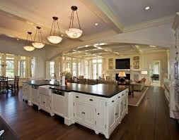 Certainteed Ceilings Bradenton Fl by Beautiful Open Concept Kitchen Dining Room Floor Plans Gallery
