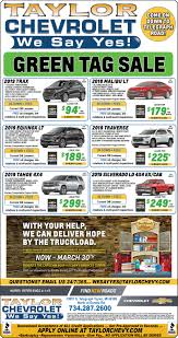 100 New Truck Deals At Taylor Chevrolet In Metro Detroit