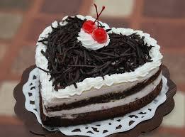 Heart Shaped Birthday Cake Image Happy Birthday Chocolate Cake For Friend In Heart Shape