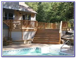 deck skirting best raised deck skirting ideas decks home