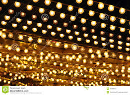 golden bulbs marquee stock photo image of stage 28308072