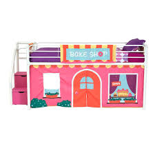 100 Fire Truck Loft Bed Curtain Set Stockcom Dorel Home Products Fantasy Essential