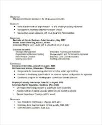 Professional Business Administration Resume