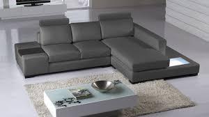 canapé angle en cuir petit canapé d angle cuir contemporain mobilier moss