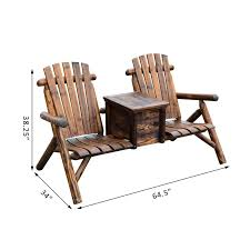 Outsunny Wooden Double Adirondack Chair Loveseat With Ice ... Best Rocking Chair In 20 Technobuffalo Double Adirondack Plans Bangkokfoodietourcom Fascating Bedrooms Twin Portable Folding Frame Wooden Air The Guild Archive Edition Textiles Ideas For The House For Outdoor Download Wood Baby Relax Hadley Rocker Beige Annie Sloan Old White Barristers Horse Swing Glider Metal Replacem Cover Home Essentials Outsunny Loveseat With Ice Lowback Side Smithsonian American Art Museum