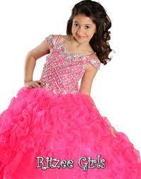 ritzee girls pageant dress 6566