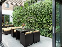Country Vegetable Garden Ideas Patio Contemporary With Green Wall Living