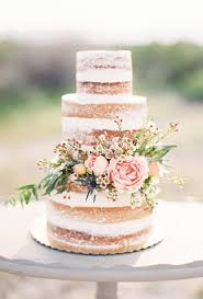 A Country Chic Naked Wedding Cake By Sprinkle Dash