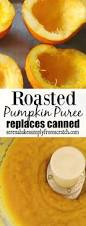 Roasting Pumpkin For Puree by Roasted Pumpkin Puree To Replace Canned Pumpkin Serena Bakes