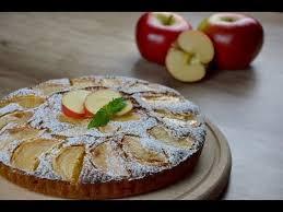 apfelkuchen mit pfirsichmarmelade