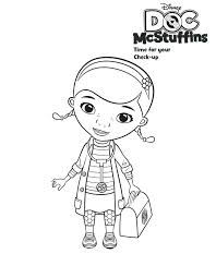 Doc Mcstuffin Coloring Pages U2013 Vonsurroquen