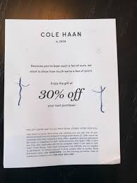 """30% Off Code Cole Haan; Please Post """"used"""" In Comments If ... Coupon For Cole Haan Juvias Place Coupon Code Vistek Promo Valentain Day 15 Off Vimeo Promo Code Coupons September 2019 Saks Off 5th Coupons And Codes Target Discount Mens Shoes The Luxor Pyramid Army Navy Modells 2018 Nike Free 2 Shipping Google Play Store Cole Outlet Houston Nume Flat Iron Meet Poachit Service That Finds Codes Alton Lane Blink Brow Discount"""