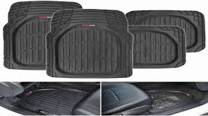 Motor Trend FlexTough Contour Liners Heavy Duty Deep Dish Rubber ... Universal Fit 3piece Full Set Ridged Heavy Duty Rubber Floor Mat Armor All Black 19 In X 29 Car 4piece John Deere Vinyl 31 18 Mat0326r01 Bestfh Truck Tan Seat Covers With Combo Alterations Mats Red Metallic Design On Vehicle Beautiful For Weather Toughpro Infiniti G37 Whosale Custom For Subaru Forester Legacy 19752005 Bmw 3series Husky Liners Heavyduty