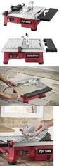 Rigid 7 Tile Saw R4020 by Tile Saws 122836 Ryobi 4 Bench Steel Aluminum Bevel Plunge Water