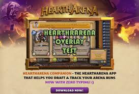 Hearthpwn Arena Deck Builder by Hearthstone Arena Guide Heartharena Overlay Youtube