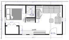 14x40 Cabin Floor Plans by 14x40 Cabin Floor Plans Tiny House Pinterest