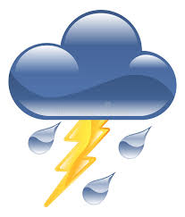 Download Weather Icon Clipart Lightning Thunder Storm Illus Stock Vector