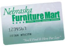 Nebraska Furniture Mart Credit Card Payment Login and Customer