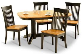 100 Oak Table 6 Chairs Split Rock And Side HOM Furniture