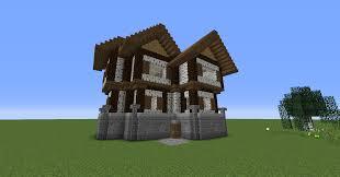 100 3 Level House Designs My Level Birch House Design For My Survival World Minecraft
