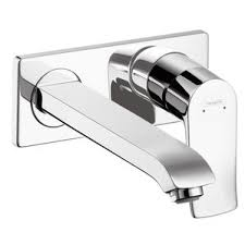 Wall Mounted Faucet Bathroom by Wall Mounted Bathroom Sink Faucets You U0027ll Love