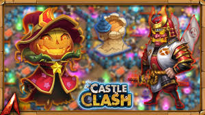 Castle Clash Pumpkin Duke Best Traits by Ronin Smashing Dungeons Castle Clash Youtube