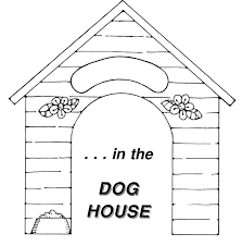 Coloring Page Dog Kennel Buildings And Architecture 13