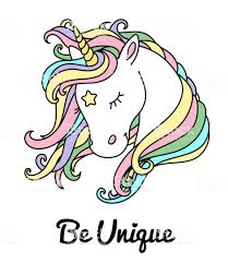 Royalty Free Cartoon Of A Unicorn Outline Clip Art Vector Images Rh Istockphoto Com