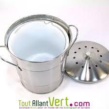 odeur de cuisine poubelle de table à compost anti odeurs pour cuisine 5 litres