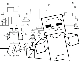 Coloring Sheets Printable Pages Free Head Minecraft Stampy
