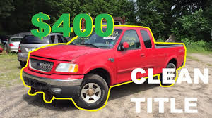 100 Salvage Truck Auction Copart The Cheapest Ford F150 From Copart