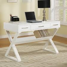 Desks Office Furniture Walmartcom by Coaster Contemporary Black Home Office Desk Walmart Com