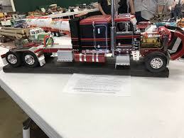My Custom Built 1/16 Peterbilt 359 Truck At A Hobby Show | My Model ... Peterbilt 359 Rc 14 And Real Truck Show Piston 20122mp4 Amt California Hauler 125 Ebay 1 4 Scale Rc Semi Trucks New Upcoming Cars 2019 20 Vintage Auto Carrier Alinum Elecon Columbia Model Classic Photo Collection Peterbilts Wedico Cab Onlyexcellent Cdition 1905965140 Gallery Hampshire With Boat Trailer For Sale Best Resource Classic Custom Big Rigs Pinterest Revell Cventional Tractor Kit 116 Pc Box