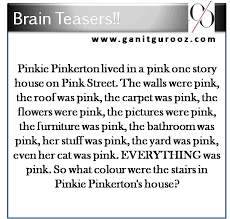 Halloween Brain Teasers Worksheets by Brain Teasers Are Used To Check How Alert And Prompt Your Brain Is