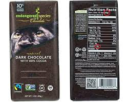 Kind Bars Nutrition Facts Picture Of A Low Chocolate Bar Snack