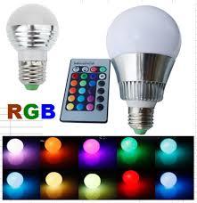 Magic Light RGB LED Light Bulb with Remote