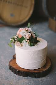 Cake Rustic White Buttercream Wedding