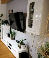 wohnwand möbel wohnzimmer schrank poco